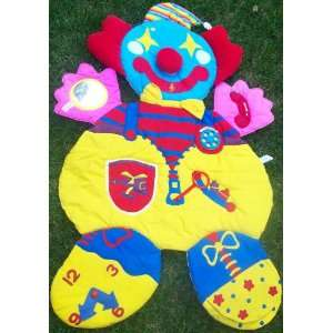 Busy Activity Clown Baby Play Mat Toy Toys & Games