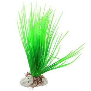 Como Fish Tank Plastic Green Acicular Leaf Aquatic Plants