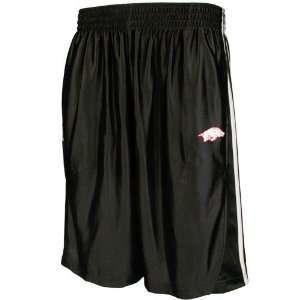 adidas Arkansas Razorbacks Black Team Logo Print Shorts