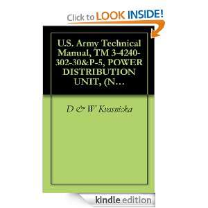 Army Technical Manual, TM 3 4240 302 30&P 5, POWER DISTRIBUTION