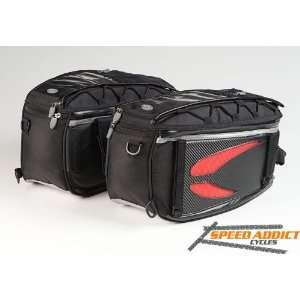 Dowco Fastrax Saddle Bag Motorcycle Sport Bike Luggage Automotive