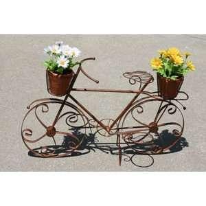 BICYCLE Bike Garden PLANTER Plant STAND statue HOLDER