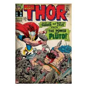 Marvel Comics Retro The Mighty Thor Comic Book Cover #128