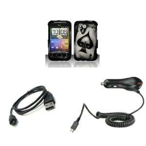 HTC Wildfire S (T Mobile) Premium Combo Pack   Black Ace