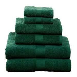 6 Piece Towel Set, Hunter Green Electronics