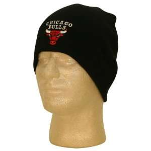 Chicago Bulls Name and Logo Winter Knit Beanie / Hat