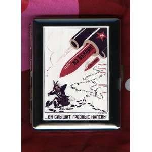 Soviet WW2 Army Military ID CIGARETTE CASE