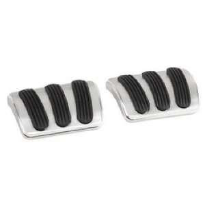 Lokar BAG 6146 Brake/Clutch Pedal Pad with Billet Finish