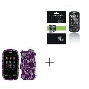 Hard Protector Case + Screen Protector for Samsung Messager Touch R630