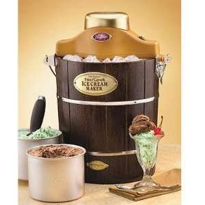Double Flavor Ice Cream Machine Elecronics