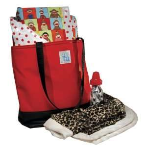 Shower Diaper Bag Red Unisex Baby