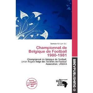 Championnat de Belgique de Football 1980 1981 (French