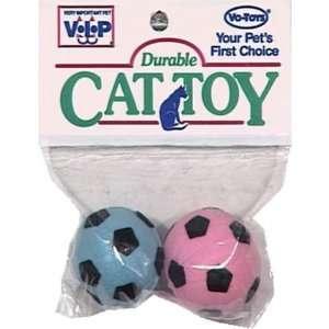 Vo Toys Kitty Sponge Balls 2 pack Cat Toy