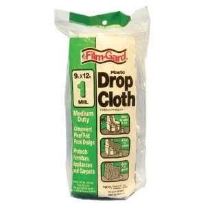 Millimeter Medium Duty Clear Plastic Drop Cloth DCHK 1