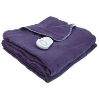 Electric Warming Blanket, Sapphire Blue