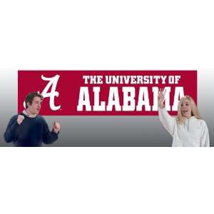 Alabama Crimson Tide 8 Foot Banners From Party Animal