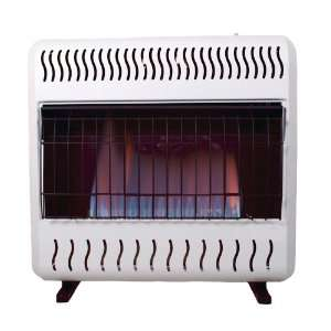 Heat 10,000 BTU Blue Flame Dual Fuel Gas Space Heater