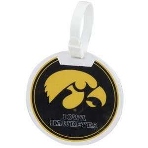 Iowa Hawkeyes Logo Golf Bag Tag: Sports & Outdoors