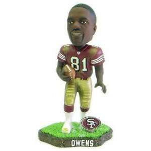 Owens Game Worn Forever Collectibles Bobblehead