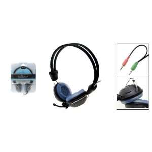 Microphone Headset With Vol Control for Skype MSN MP3 Electronics