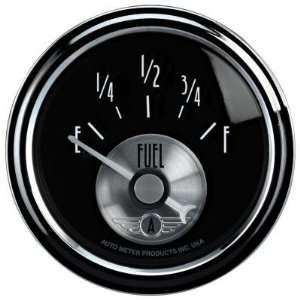 Auto Meter 2016 2 1/16 Fuel Level, 240 33 ohms, SSE, Prestige Black