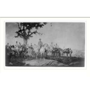 Print (M) [General Lee and his Confederate generals] Home & Kitchen