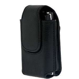 Pocket Genuine Leather Flip Phone Case with Rotating