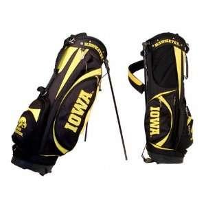 Iowa Hawkeyes Golf Bag 7 Way Original Stand Bag