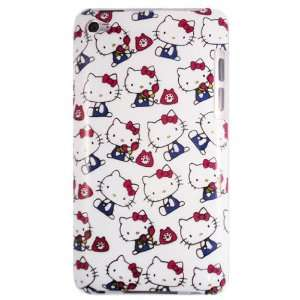Hello Kitty Telephone Hard Case for Apple iPod Touch 4th