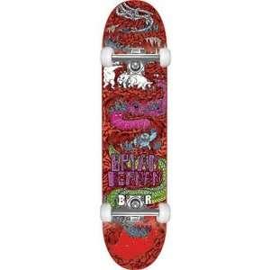 Baker Herman Super Jack Complete Skateboard   8.19 W/Raw