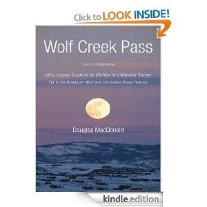 Old Man to a Wayward Traveler. Set in the American West and the Indian