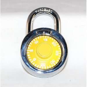 Stainless Steel Combination Lock Assorted Colors