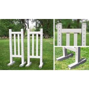 5 Picket Wing Standards   Horse Jumps: Sports & Outdoors