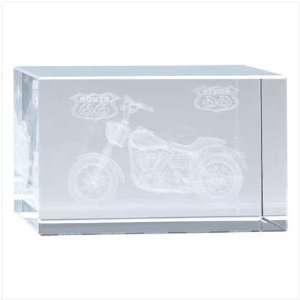 Hot Rod Road Bike Glass Cube   Style 39807