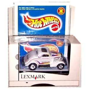 Hot Wheels   Lexmark Special Edition   White Early Model Car