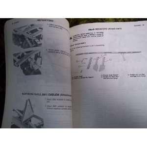 Deere 105 Intergral Disk OEM OEM Ownerss Manual John Deere Books