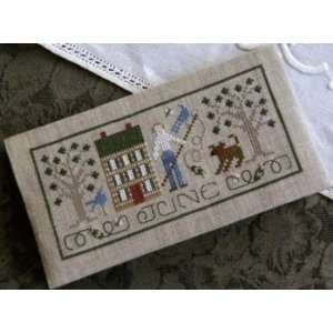 Pocket Calendar Cover   June   Cross Stitch Pattern Arts