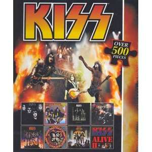 Kiss Jigsaw Puzzle 500pc Toys & Games
