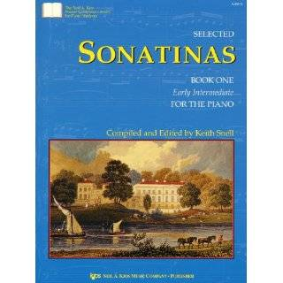 GP672   Selected Sonatinas Book Two Intermediate for the