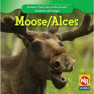 Moose/Alces (Animals That Live in the Forest/Animales del