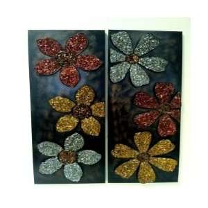 Metal Flower Wall Art REDEN1920