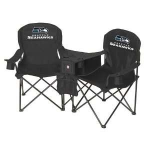 Seattle Seahawks NFL Deluxe Folding Conversation Arm Chair