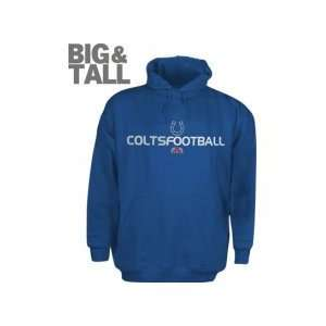 Indianapolis Colts NFL Team Apparel Big And Tall Pullover