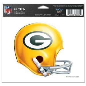 NFL Green Bay Packers Window Cling   Vintage Logo Sports