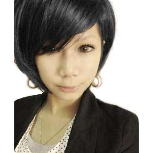 Cool2day Cool Short Black Wig Fashion BOB Wigs JF010392 Toys & Games