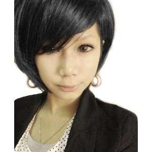 Cool2day Cool Short Black Wig Fashion BOB Wigs JF010392 Toys & Games
