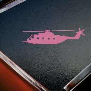 Giant Helicopter Pink Decal Car Pink Sticker Arts, Crafts & Sewing