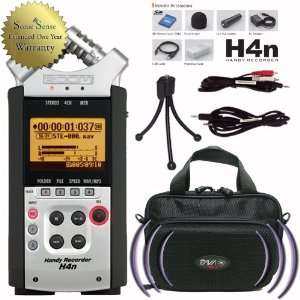 Zoom H4n Portable Recorder System with PAVA FPS 2 Carrying