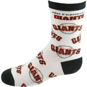 MLB San Francisco Giants Preschool Allover Crew Socks