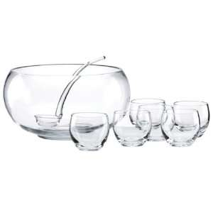 Tuscany Classics 8 Piece Punch Bowl Set